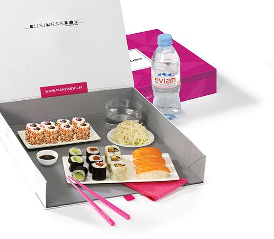La business box Planet Sushi